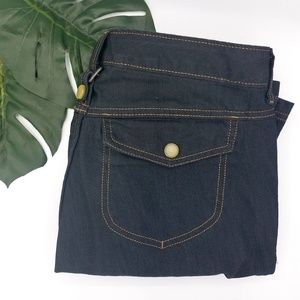 Athleta | Hiking Pants 10 Denim Pockets EUC